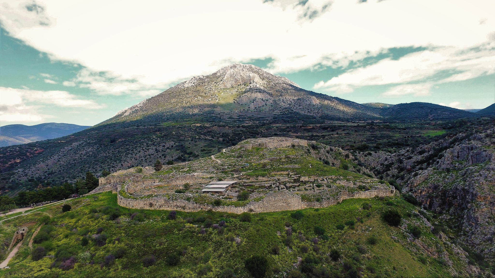 Acrópolis Micenas Grecia