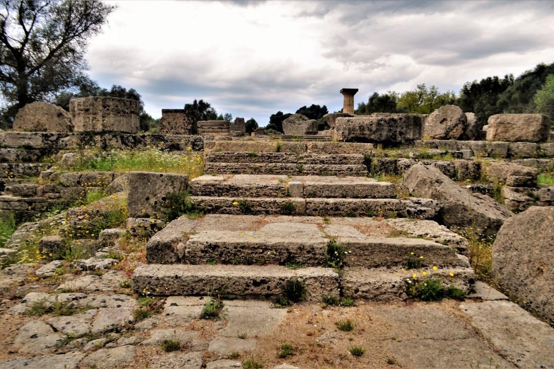Santuario de Olimpia Grecia